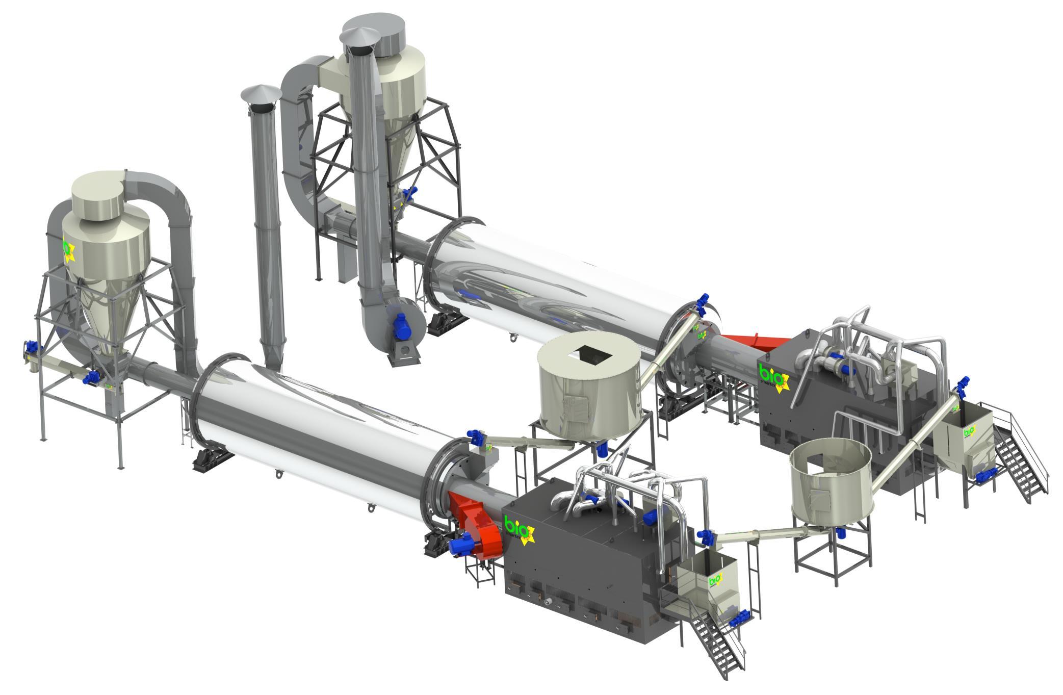 Сушильний комплекс 4 000 - 6 000 кг/год